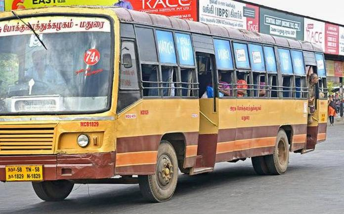 Tamilnadu Government Bus