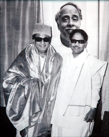 MGR-Karunanidhi