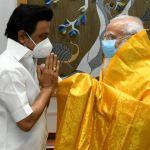 MK Stalin - PM Modi