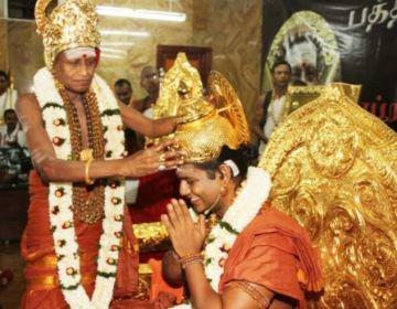 மதுரை ஆதீனம் அருணகிரிநாதர் - நித்தியானந்தா