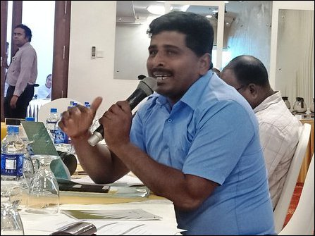 Journalist Thavaseelan Shanmugam