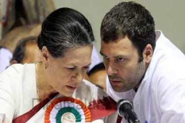 Sonia, Rahul to rest Cong., Chairman speech controversy