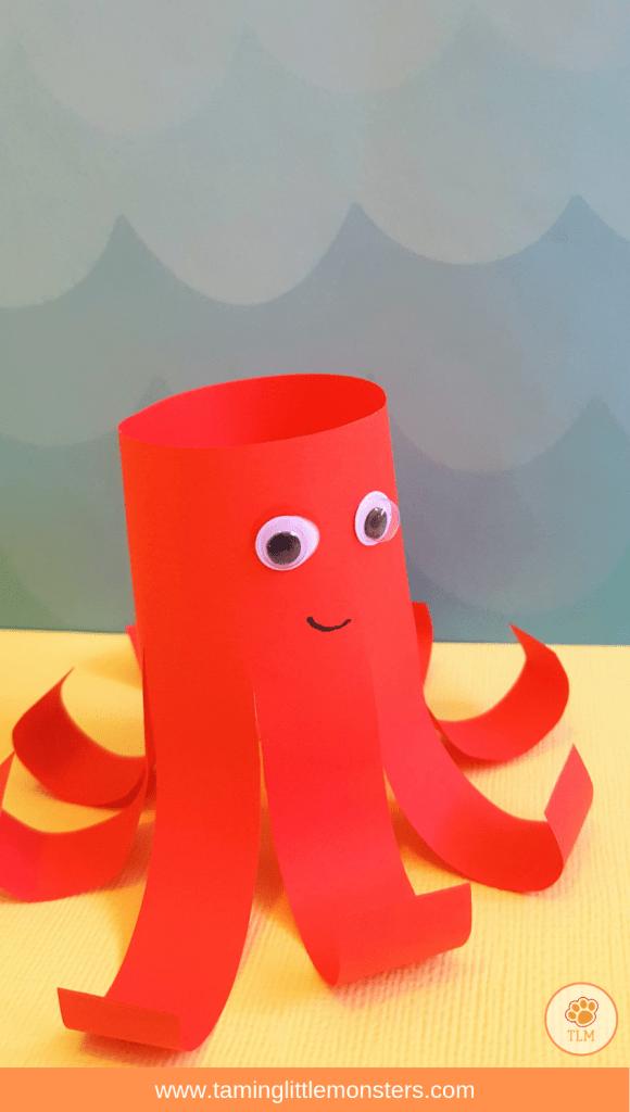 5 Sea Creature Craft Activities Taming Little Monsters