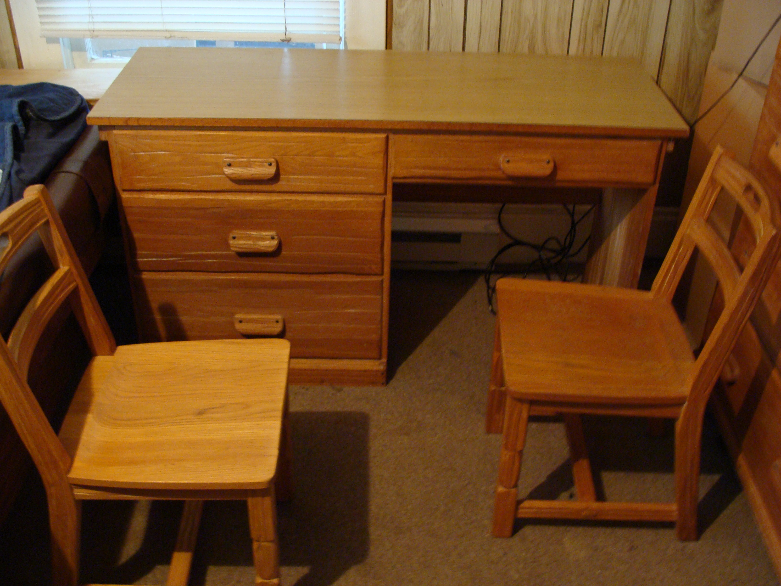 Student Desk And Chair Ranch Oak Furniture