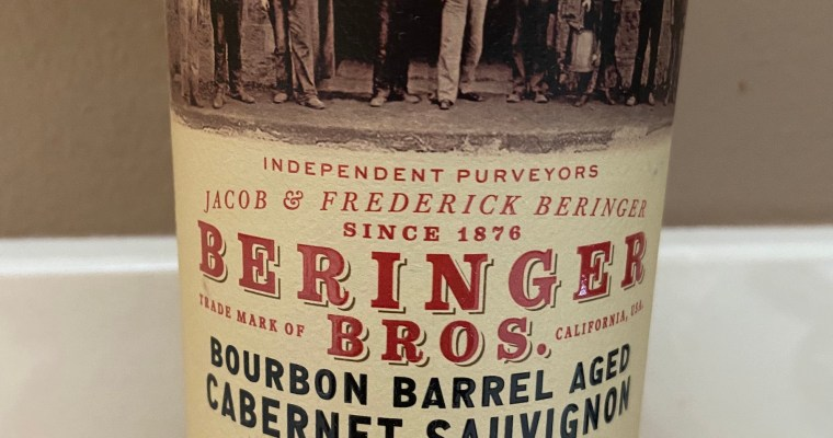 Wine of the Week-Beringer Bros. Cabernet Sauvignon