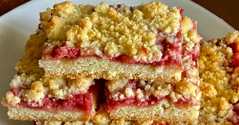 Treat Tuesday-Strawberry Crumble Bars