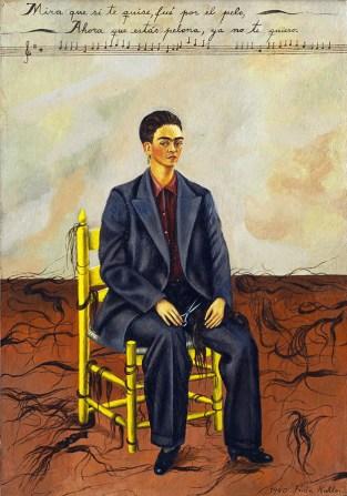 Pelo Corto por Frida Kahlo.