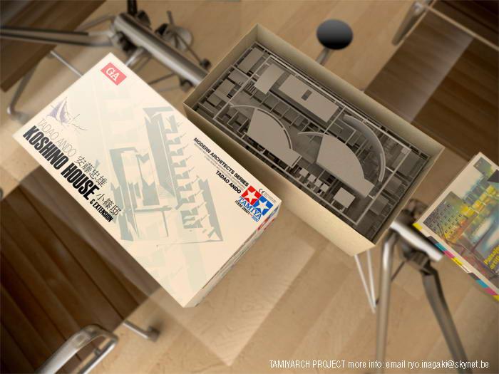 Tamiya Architecture kit 01 Koshino House  TamiyaBlog