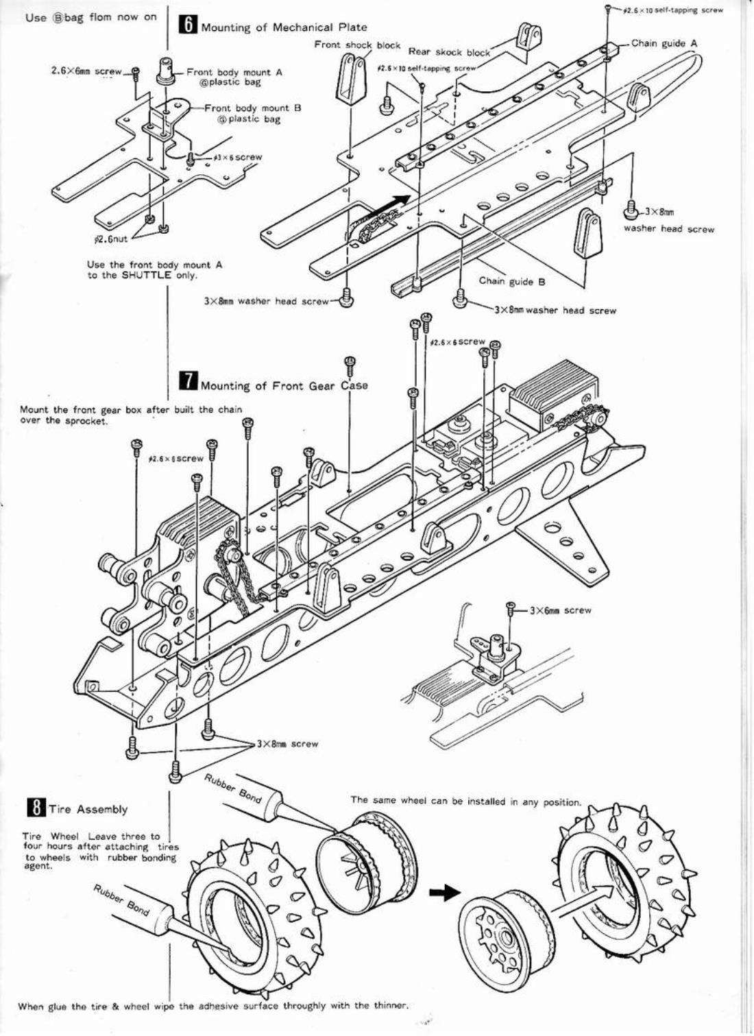 99986: AYK from Spike showroom, AYK Viper assembly manual