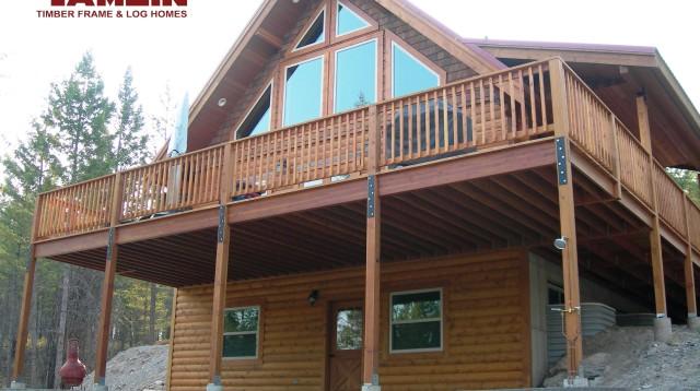 Log Cabin Packages  BC Cedar Log Home Kits  Tamlin Custom Log Homes