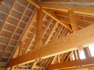 Roof System  BC Timber Frame Homes  Post and Beam