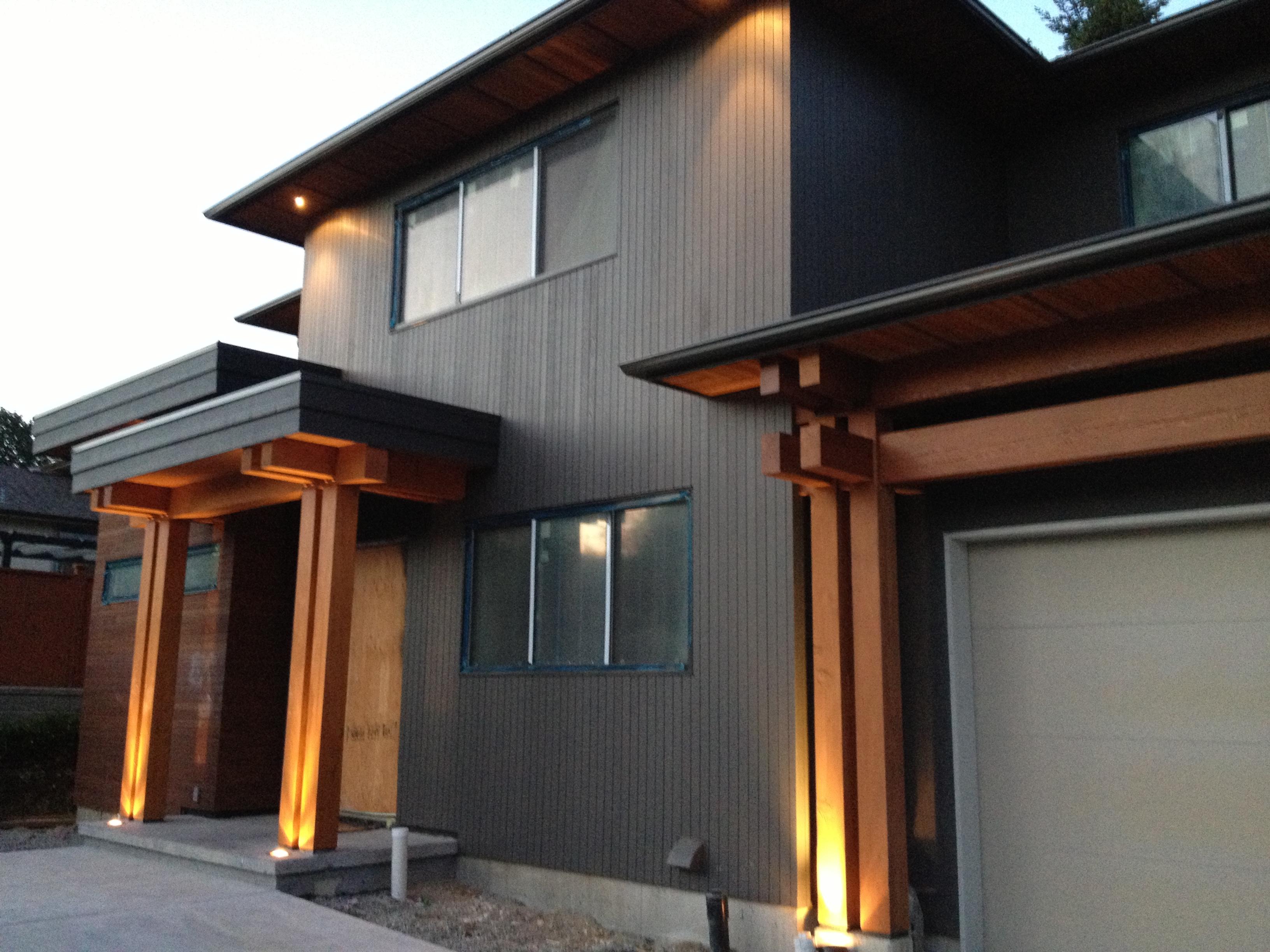 Contemporary West Coast Style Custom Homes Tamlin Homes