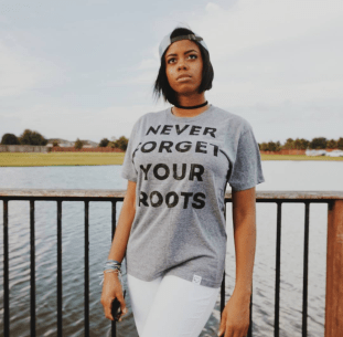 Never Forget Your Roots by Tammie Riley