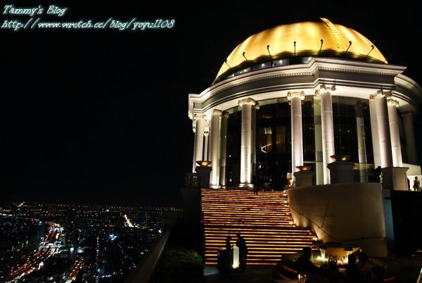 《曼谷旅遊》Sirocco / Sky Bar  又見璀璨夜景