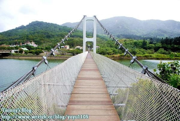 《屏東旅遊》滿州。港口吊橋