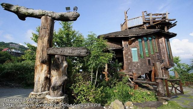 《南投民宿》清境。雲南風情景觀山莊 – 僾伲樹屋