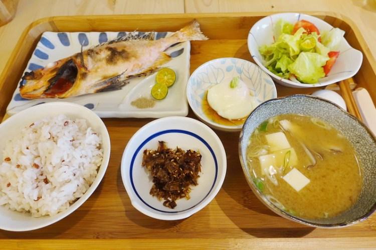 《宜蘭美食》礁溪里海cafe' 地道鮮魚日式定食不必飛日本就吃得到!