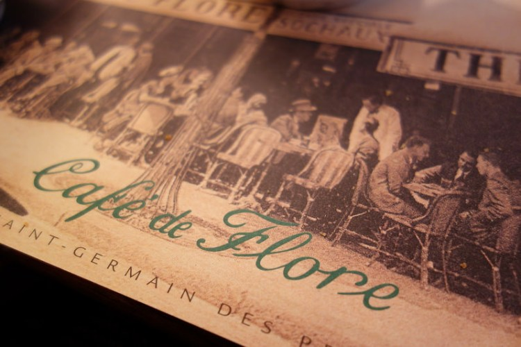 《法國》巴黎花神咖啡館 CAFE DE FLORE 陰雨中的悠閒早餐