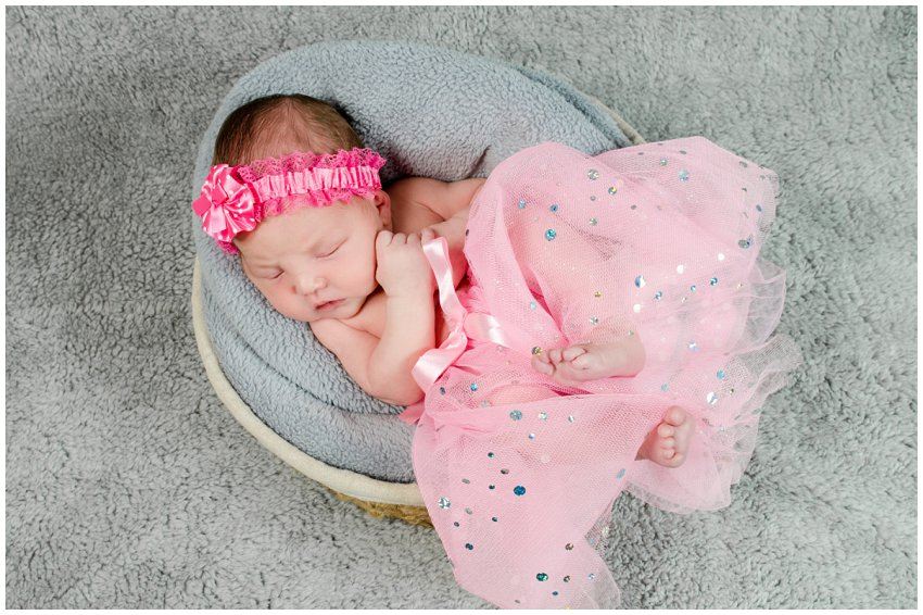 Newborn Photo Shoot at home in Kempton Park