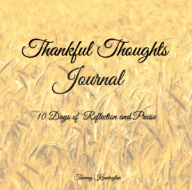 Thankful Thoughts Journal Cover