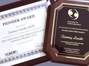 Pioneer and Mary Parker Follett Awards