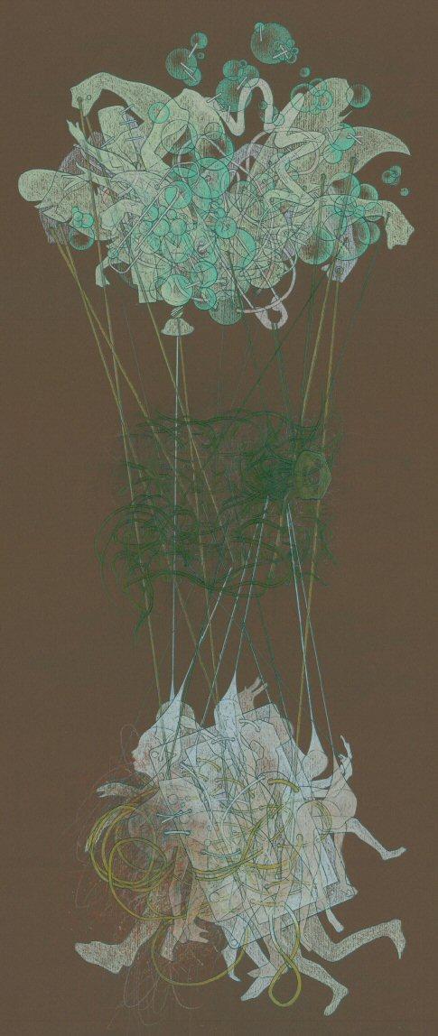 Untitled (detail) Pencil on paper 60cm x 50cm © 2009 Tammy Lu
