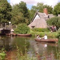 Flatford Mill - Constable's great English landscape