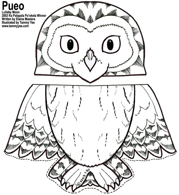 Free coloring pages of finger puppet