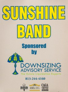 Sunshine Band Spnsors