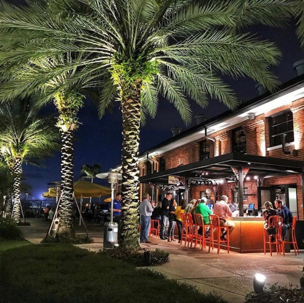 tampa bay patios for date night