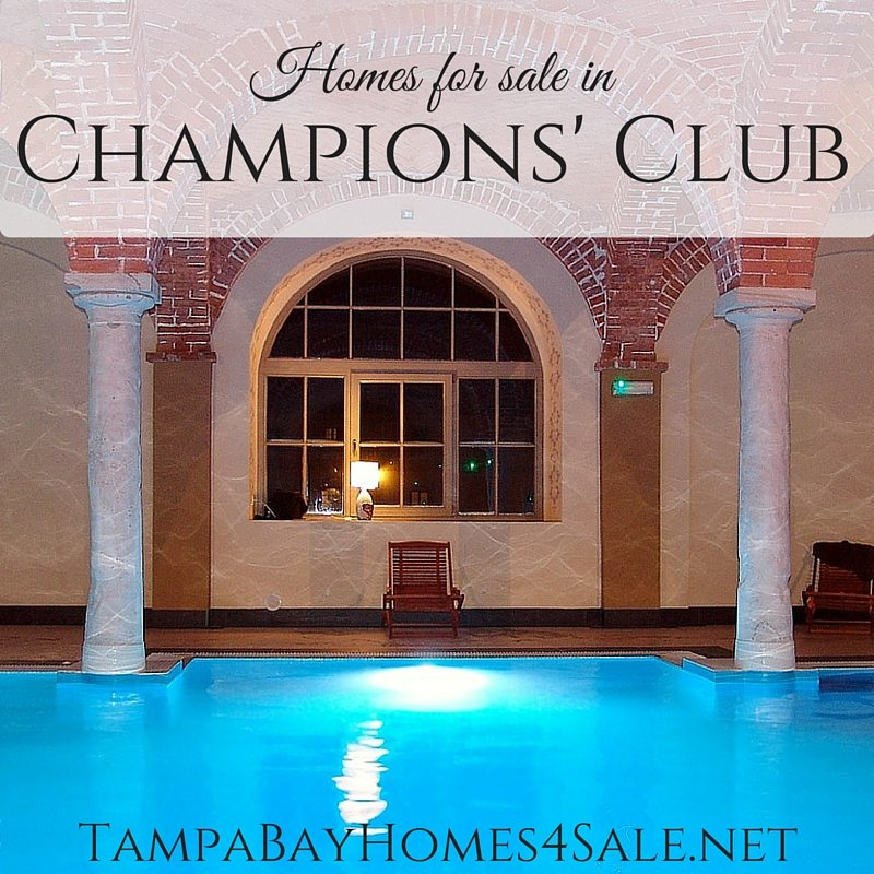 Homes for Sale in Champions' Club, Trinity, FL