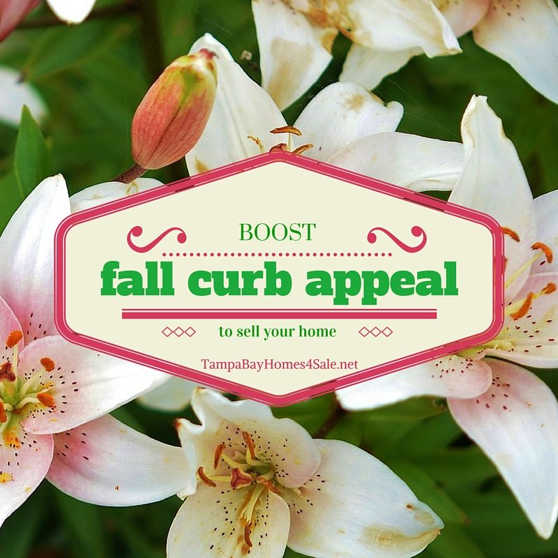 Boost Fall Curb Appeal to Sell Your Home - Sell a Home in Tampa Bay