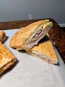 Large Cuban Sandwich from West Tampa Sandwich Shop - $4.90