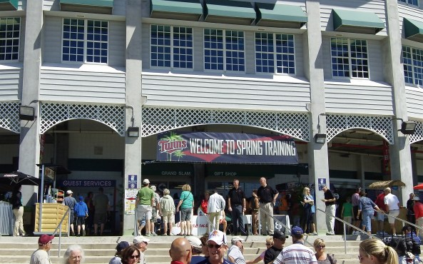 The Tampa Bay Rays faced off against the Minnesota Twins at Hammond Stadium on March 5, 2013