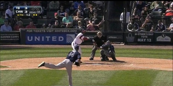 This pitch doesn't look outside to me.