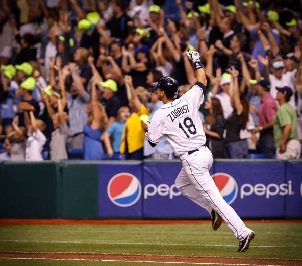 Zorilla! (Courtesy of the Tampa Bay Rays)