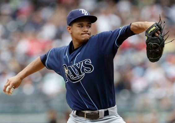 All hail King Archer! The Rays rookie tossed nine innings of two hit -- no run -- ball Saturday against the Yankees.