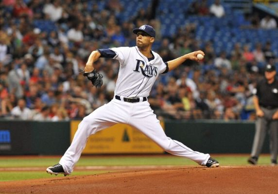 David Price starts against the Boston Red Sox at Tropicana Field. (Photo courtesy of Al Messerschmidt/Getty Images)