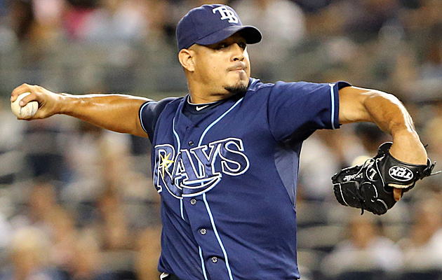 Rays reliever Joel Peralta (photo courtesy of Anthony Gruppuso/USA TODAY Sports)