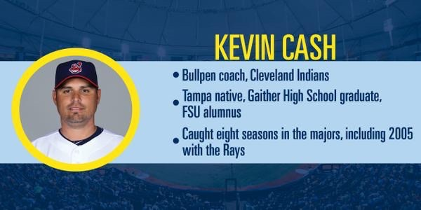To better know Kevin Cash. (Courtesy of the Tampa Bay Rays)