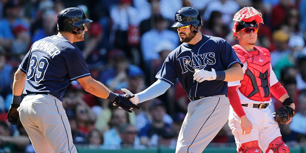 A season-high 12 runs propelled the Tampa Bay Rays to back-to-back series wins. (Photo Credit: Tampa Bay Rays)
