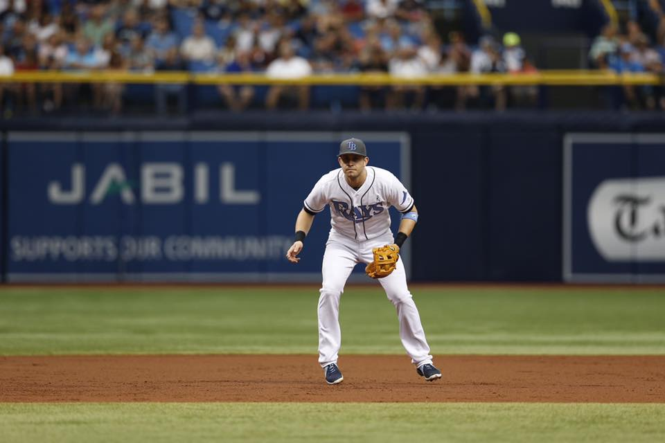 The Captain, Evan Longoria. (Photo Credit: Tampa Bay Rays)