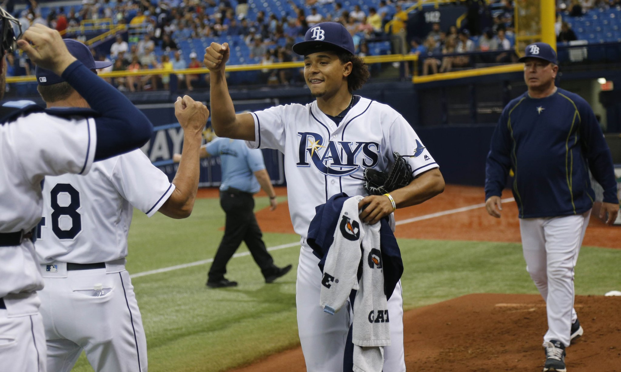 Chris Archer gets the start opposite of RHP Jeff Samardzija in the series opener with the Giants on Friday. (Photo Credit: Tampa Bay Rays)