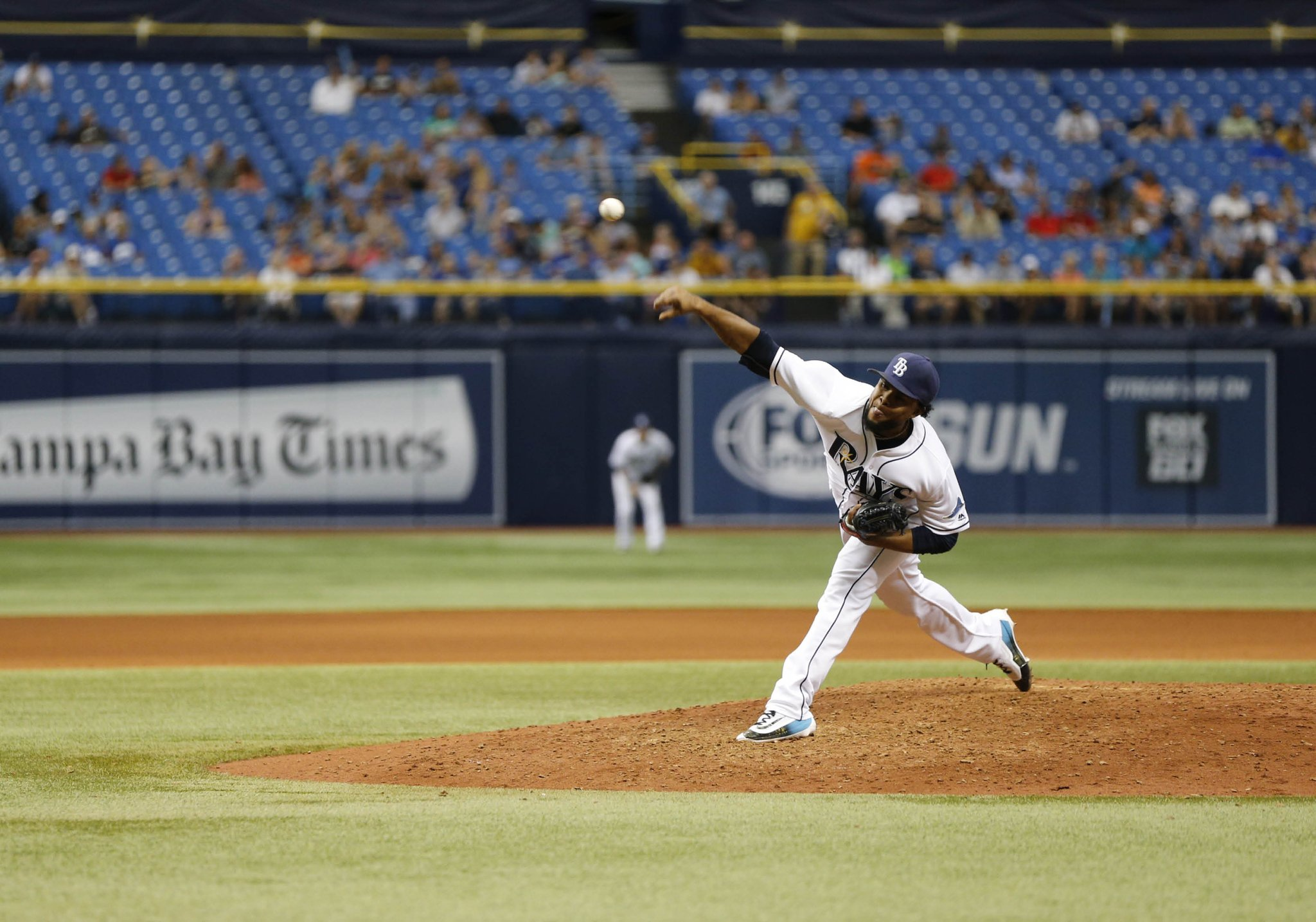 Alex Colome earned his 26th save of the season in the Tampa Bay Rays 3-2, come-from-behind win in the season finale against the Kansas City Royals on Thursday. (Photo Credit: Tampa Bay Rays)