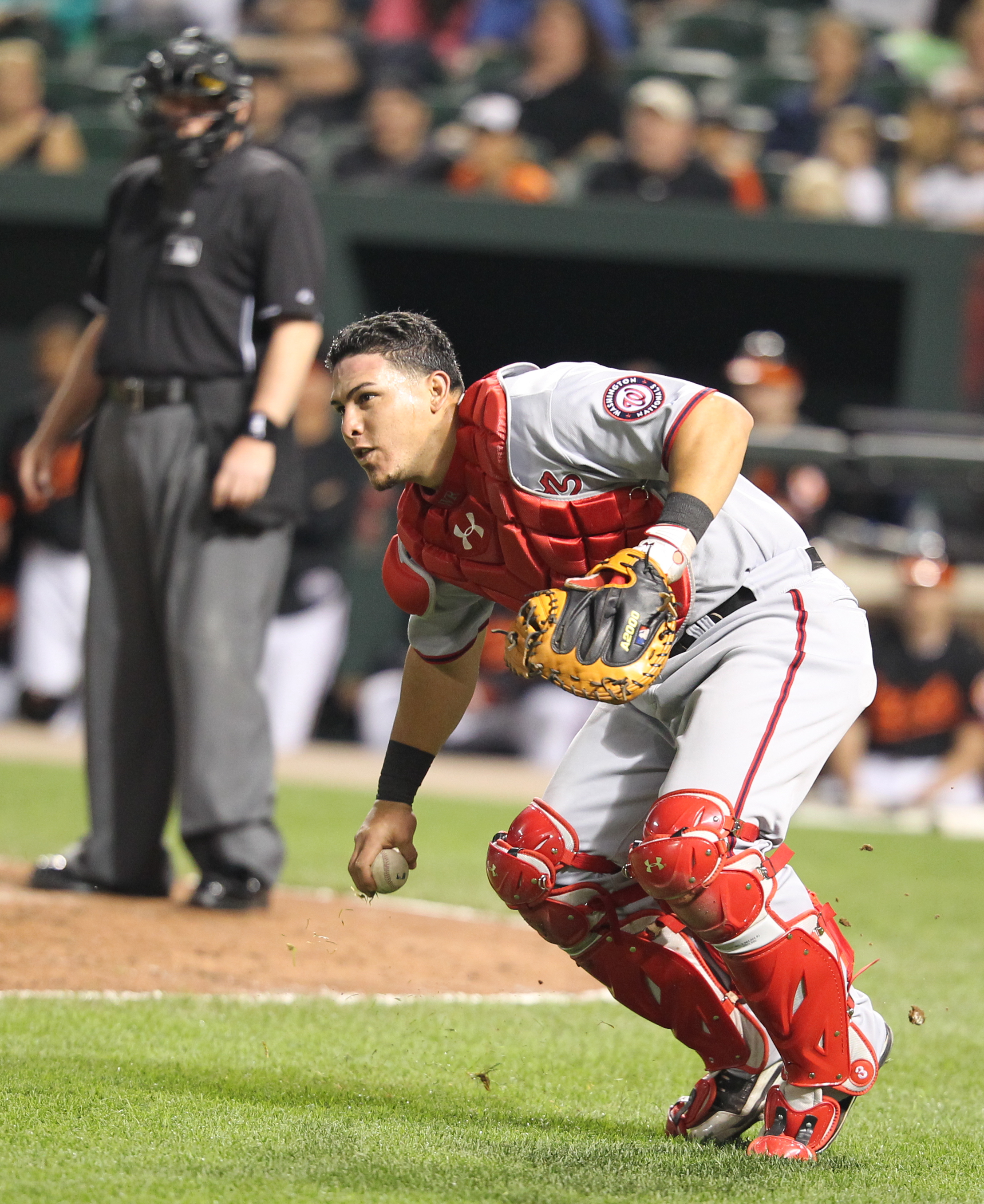 The Rays reportedly have inked a two-year deal with catcher Wilson Ramos, formerly of the Washington Nationals. (Photo Credit: Keith Allison)