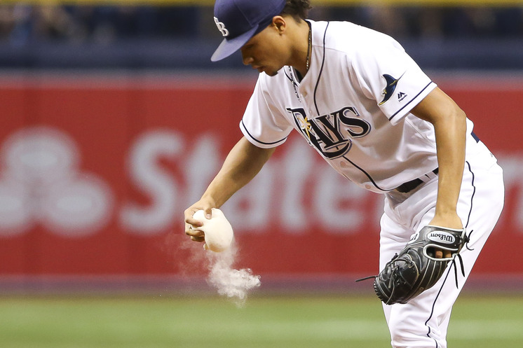Marc Topkin gets the sense that Chris Archer will be a Ray next season. (Photo Credit: Will Vragovic/Tampa Bay Times)