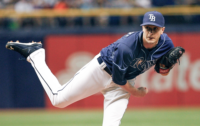 Hurler Jake Odorizzi is the only Ray headed to arbitration in 2017. (Photo Credit: Reinhold Matay/USA Today Sports)