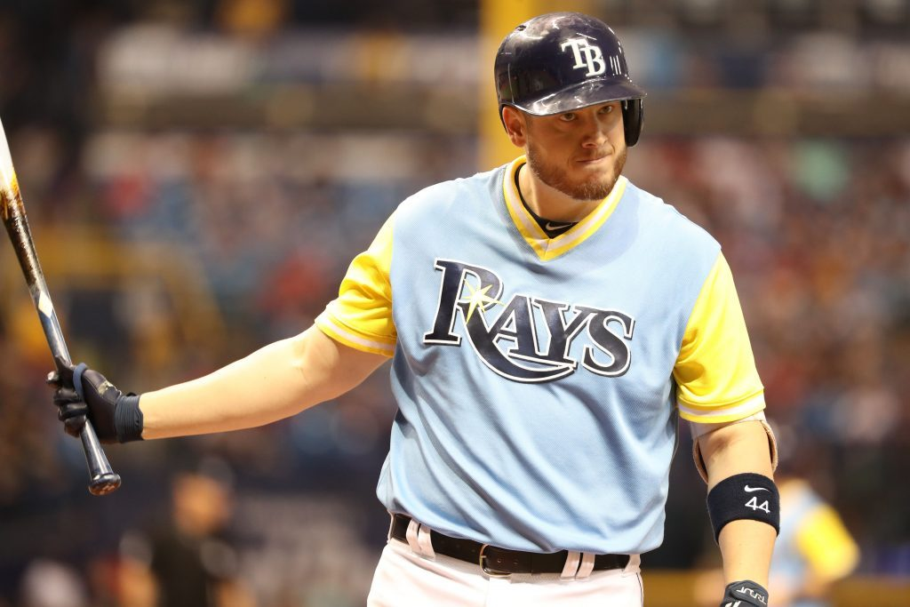 63f6431b9 Rays designate CJ Cron and others for assignment  add five to the 40-man  roster