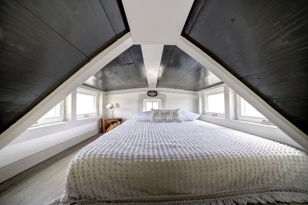 The Burg Tiny House - Loft Bedroom - Tampa Bay Tiny Homes