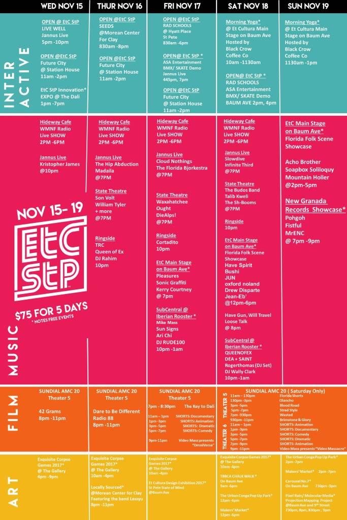 Et-Cultura-Calendar-2017 - Tampa Bay Tiny Homes
